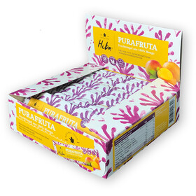 Hiba Purafruta Energy Bar Box 12x30g, Mango